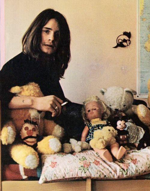 Ozzy Osbourne in Circus Magazine, February 1973.