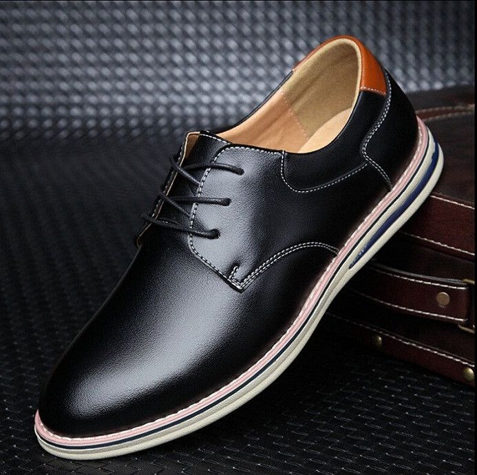 New 2016 Fashion Brand Luxury Men Leather Loafers Mens Creepers Shoes Flat Oxford Wedding Shoes Business Italian Dress Footwear