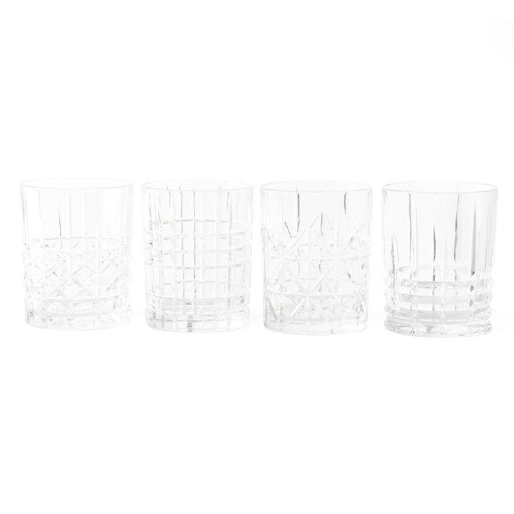 Highland Whisky Tumblers, Set of Four