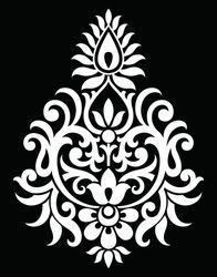 Traditional Indian motif