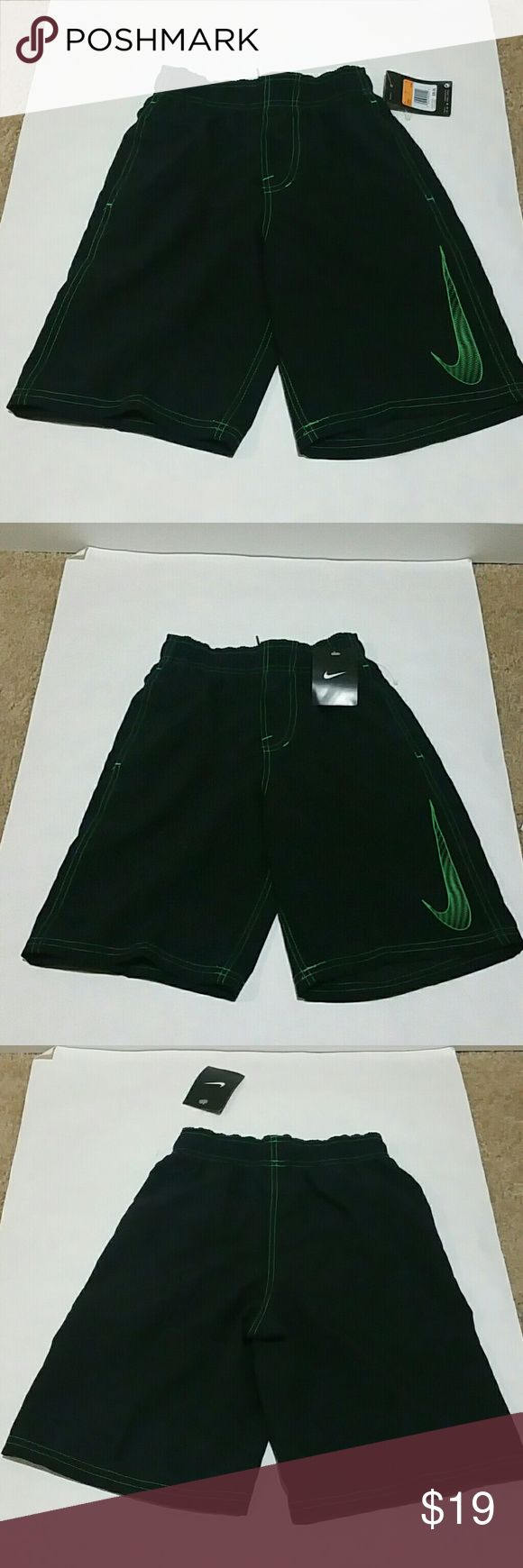 NIKE SWIM SHORTS FOR BOYS SU21475, 721989, 100%POLYESTER, NWT Nike Swim Swim Trunks