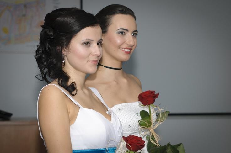 Wybory Miss Wyższej Szkoły Zdrowia, Urody i Edukacji fot.: Wojtek Hintzke www.serwusik.pl