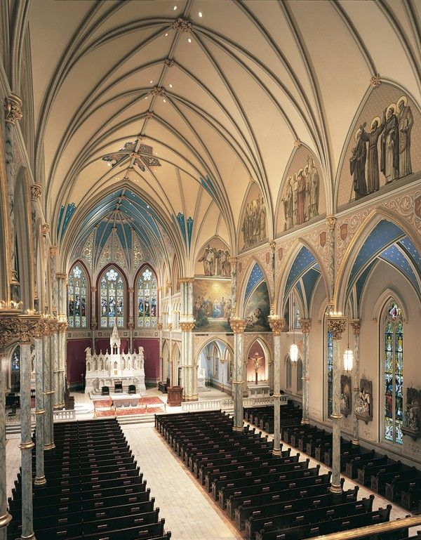 cathedral in savannah georgia | ... Cathedral of St. John the Baptist, Savannah, GA - Photo: Don DuBroff