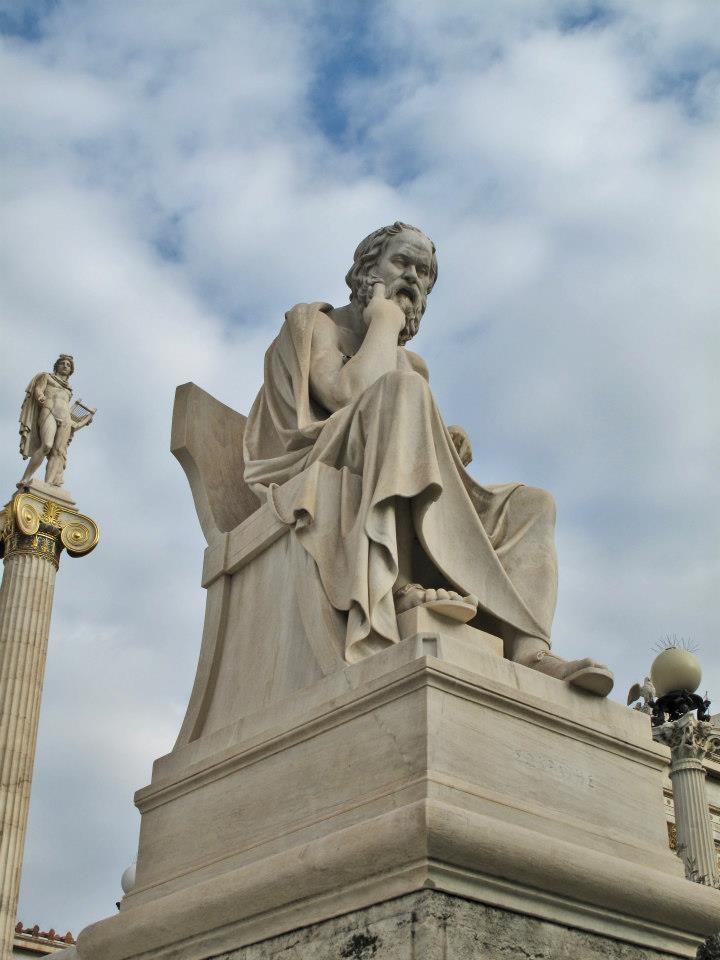 Socrates, Academy of Athens, Panepistimiou Str., Athens