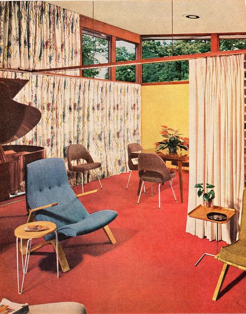 386 best 50s Interiors images on Pinterest | Chairs, Home ideas and ...