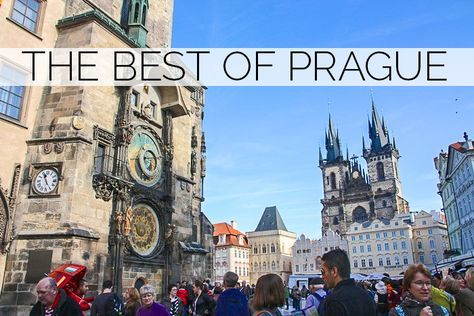 Today I'm excited to share 8 tips for what to see and do in one of my favorite European cities, PRAGUE. 1 | Go on the Taste of Prague Tour. Seriously, the best tour I've ever been on, e…