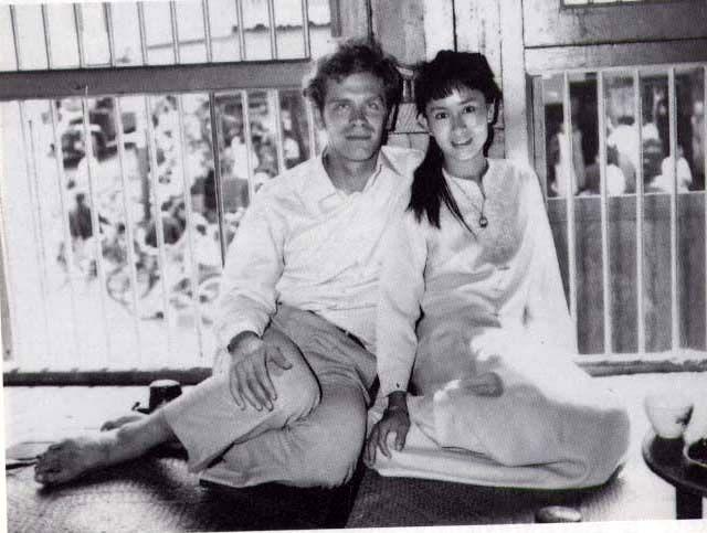 aung san suu kyi & michael aris