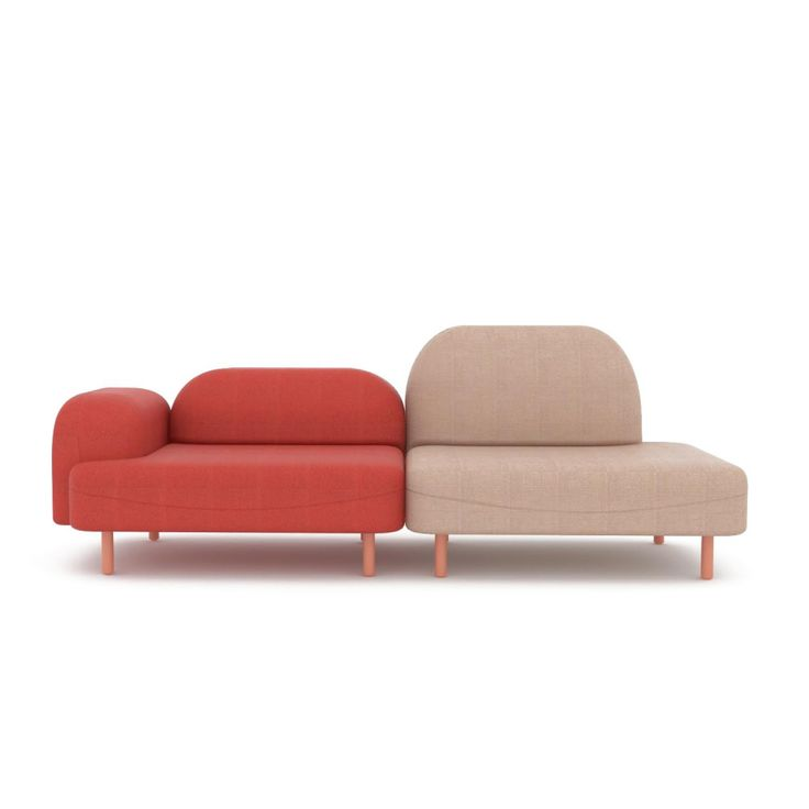 The 'Scafell Sofa', designed in house by the Deadgood Studio, is a simple modular sofa system with a comfortable and generously proportioned seat.