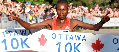 Athletics: Lingering calf injury thwarts Geoffrey Mutai's comeback at the Ottawa 10K