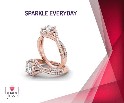 Leave a little sparkle wherever you go...  #Ring #Gold #Diamond #Gift