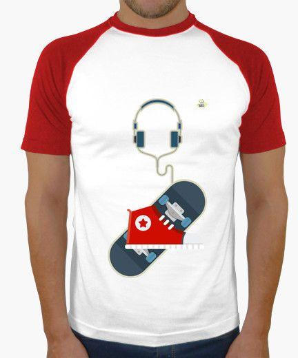Camiseta Skater Camiseta hombre, estilo béisbol  19,90 € - ¡Envío gratis a partir de 3 artículos!