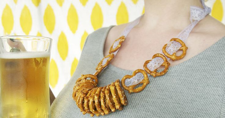 Make your own Oktoberfest necklace