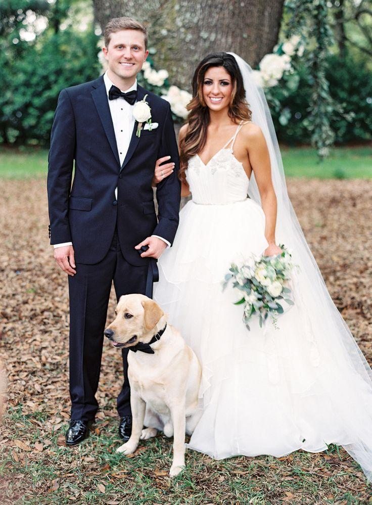Photography: Lauren Peele www.laurenpeelephotography.com Wedding Dress: Hayley Paige www.jlmcouture.com/Hayley-Paige View more: http://stylemepretty.com/vault/gallery/35844