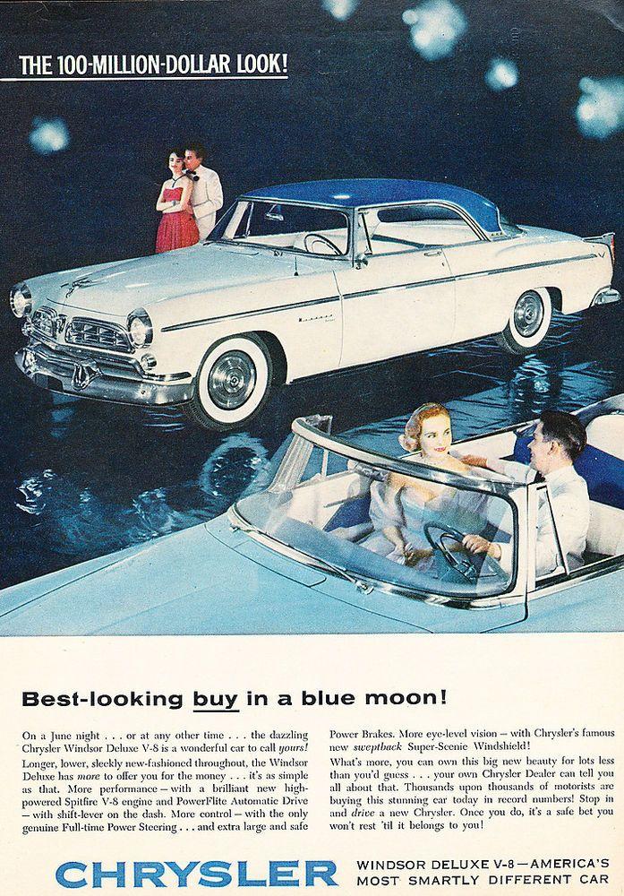 135 best Chrysler: 1955 & 1956 images on Pinterest | Chrysler ...