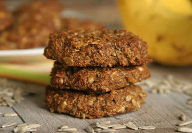 Soft Banana Energy Cookies #gluten-free   Healthy in the kitchen   Pi ...