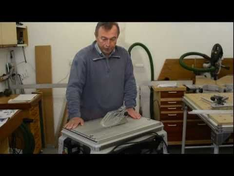 Festool CMS Unit with TS55R Saw - Part 1