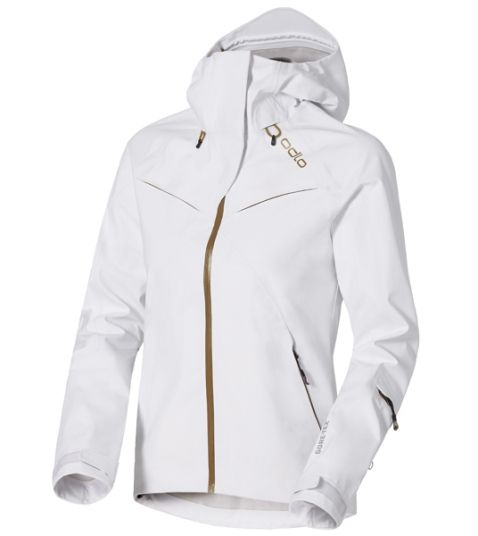 odlo womens jacket white