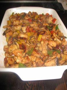 Kip met een indisch tintje, lekker met witte rijst of met stokbrood