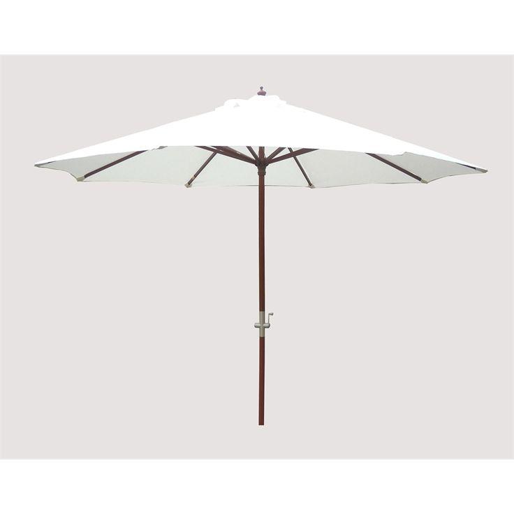 Mimosa 3m Natural Timber Market Umbrella I N 3190050