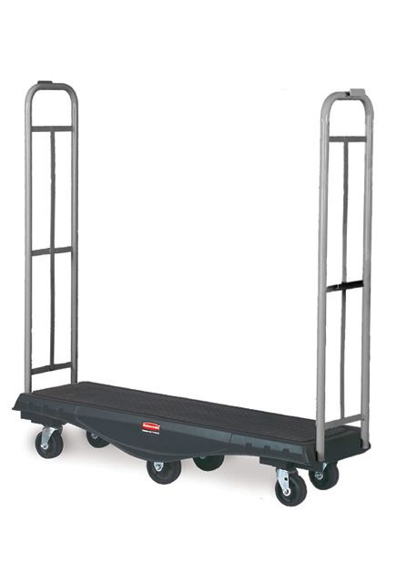 Stockmate, Handling Truck: StockMate Transport Truck, Utility Deck, Olefin Wheels and Casters