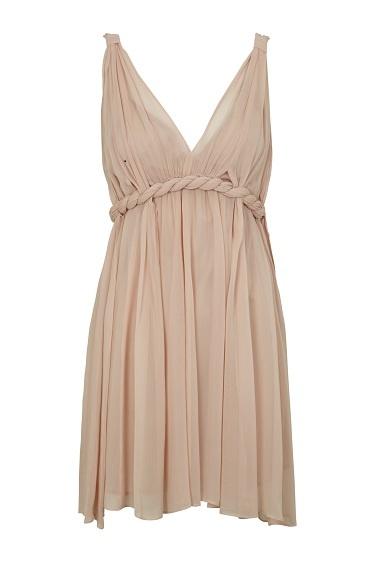 Vestido griego de Hoss Intropía Silver Line