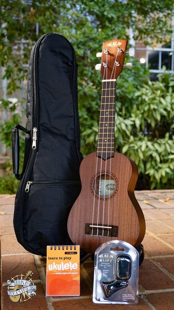 Image of Kala KA-15S Ukulele Player Pack Plus