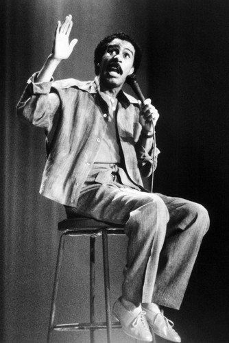 Richard Pryor On Stool In Concert On Stage 24x36 Poster