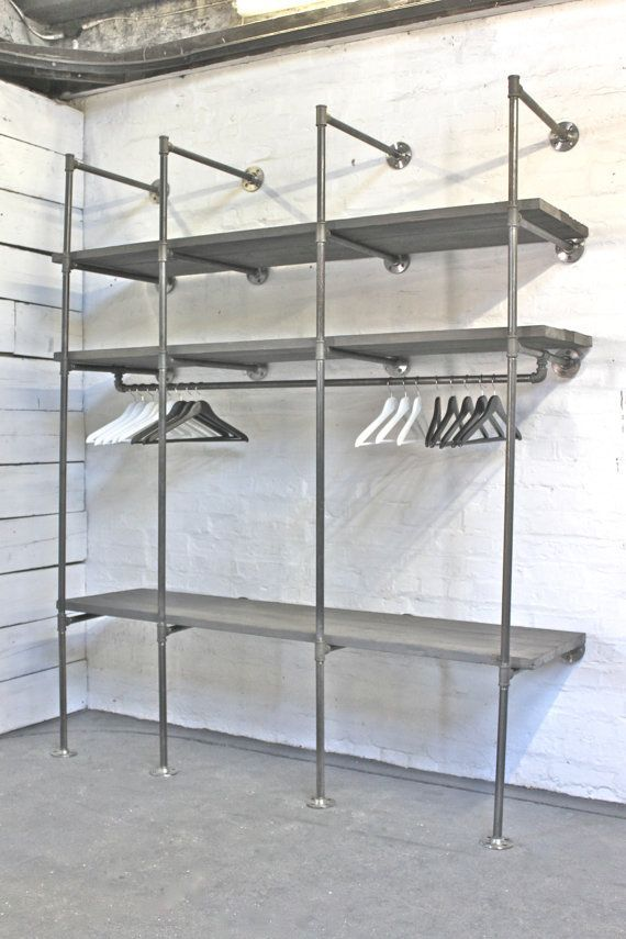 Pipe Clothing Racks on Pinterest | Clothing Racks, Garment Racks ...