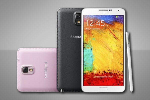 Samsung Galaxy Note 3 Yeni Renklere Kavuşuyor