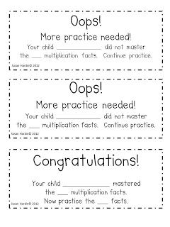 Great idea for math facts, sight words, reading..