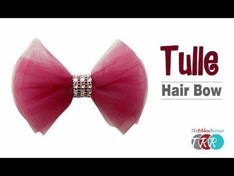 How to Make a Ribbon Trimmed Tutu - TheRibbonRetreat.com - YouTube