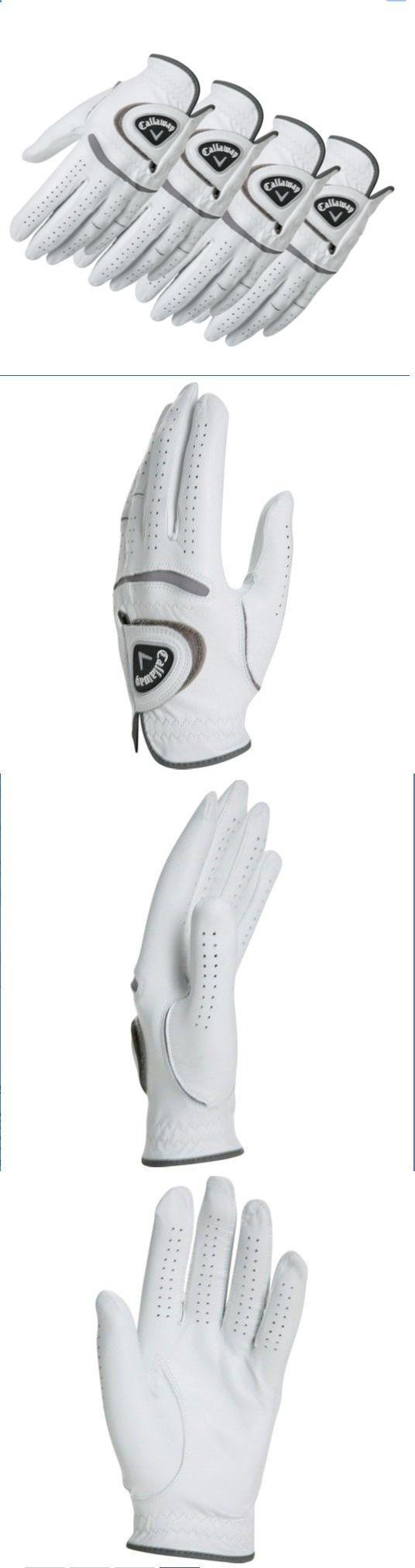 Cosmetics black leather gloves lyrics - Golf Gloves 181135 Callaway Mens 4 Pack Leather White Golf Gloves To Be
