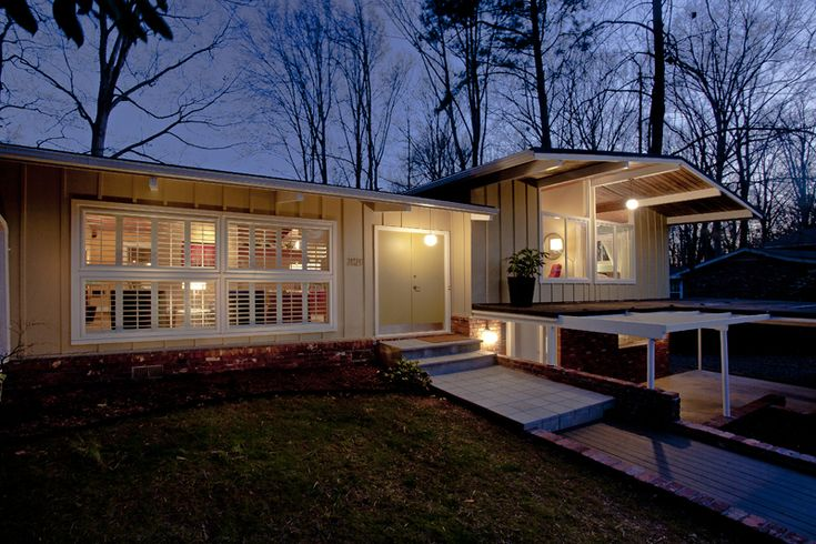 30 best mid century modern homes atlanta images on for Contemporary homes atlanta