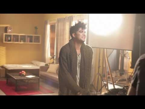 """Adam Lambert Behind The Scenes with Nile Rodgers working on """"Shady"""" 