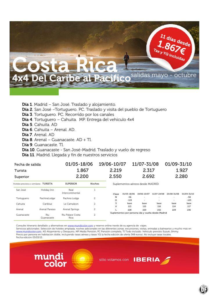 Costa Rica del Caribe al Pacífico 4x4 ver 2015 ultimo minuto - http://zocotours.com/costa-rica-del-caribe-al-pacifico-4x4-ver-2015-ultimo-minuto/