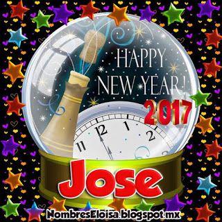 NombresEloisa.Blogspot.mx: Happy New Year 2017 (Nombres de Hombre)