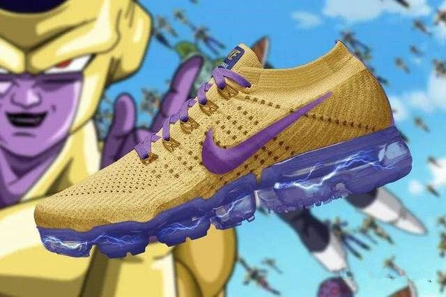ff85698ac62f Nike Air VaporMax 2018 2.0 Flyknit Frieza Purple Golden Yellow Men ...