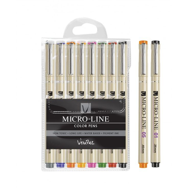 8Pc Coloring Pen Set