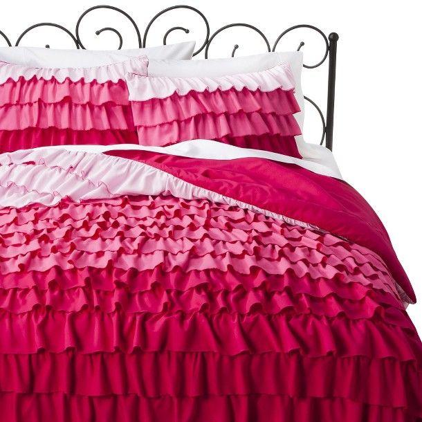 Xhilaration® Ruffle Comforter Set - Turquoise (Full/Queen)