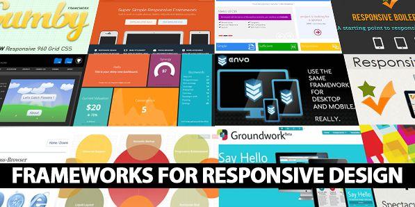 25 Useful Responsive Frameworks For Front-End Design  #responsivedesign #webdesign #responsivewebdesign