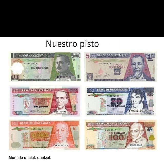 Guatemala money!!!