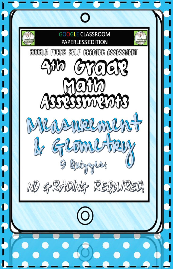 STANDARDS BASED ASSESSMENTS - THAT GRADE THEMSELVES!This product contains a PDF file that will provide instructions and links to 9 Math Quizzes to be used with the 4th Grade MD and G Standards. DOWNLOAD THE PREVIEW TO TRY ONE OF THE 4th Grade QUIZZES FOR FREE! ♻️♻️♻️♻️GO PAPERLESS!♻️♻️♻️♻️