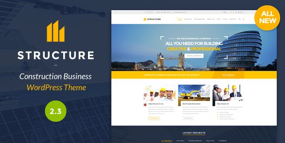 Themeforest WordPress: Structure – Construction WordPress Theme on THEMEFOREST FREE DOWNLOAD http://themeforestfreedownload.com