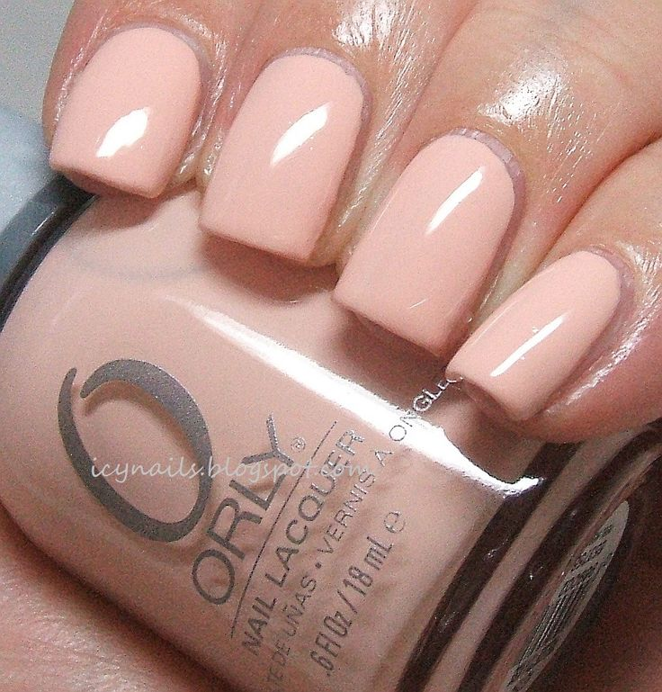 Pink Nail Polish Mini: Orly - First Kiss (mini)