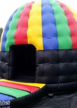 Disco Dome Party Pod Bouncy Castle - Bouncy Castles - Bouncy Castle Hire in Colchester, Clacton, Harwich Ipswich, Essex & Suffolk