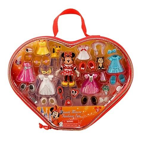 Disney minnie mouse polly pocket dress up fashion set