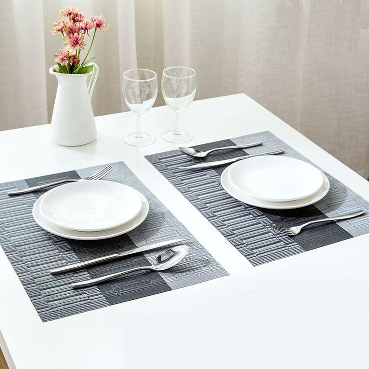 les 56 meilleures images du tableau set de table sur pinterest. Black Bedroom Furniture Sets. Home Design Ideas