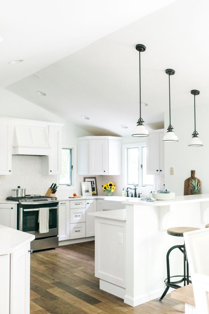 Coastal inspired kitchen renovation in Annapolis, Maryland by branding designers…