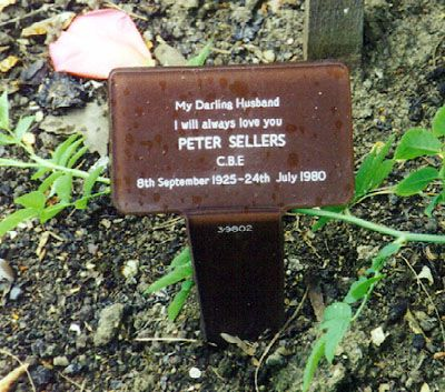 Peter Sellers. There is no me. I do not exist ... There used to be a me, but I had it surgically removed.
