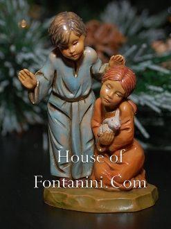 Adah and Jason (Children) - Fontanini 5 Collection